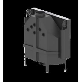 Wkład kominkowy HITZE - ALBERO 25kW - drzwi podnoszone
