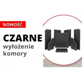 Akumulacyjny beton ceramiczny w kolorze CZARNYM - HITZE