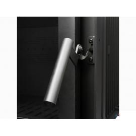 Wkład kominkowy KFD narożny ECO MAX 7 R - szyba frontowa i szyba boczna prawa - 14 kW - bez szprosa
